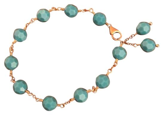 Preload https://img-static.tradesy.com/item/22148523/turquoise-gold-swarovski-crystal-and-vermeil-bracelet-0-1-540-540.jpg