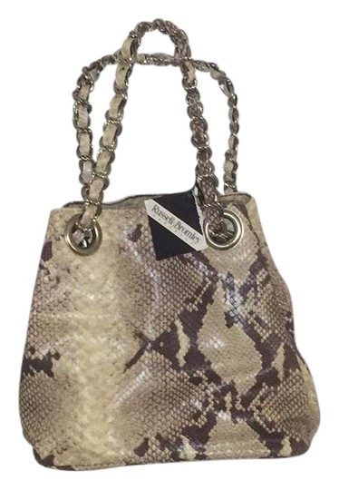 Preload https://img-static.tradesy.com/item/22148585/fabric-with-braided-metal-chain-brown-snakeskin-leather-baguette-0-1-540-540.jpg