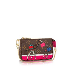 Louis Vuitton Limited Edition Wristlet in Brown