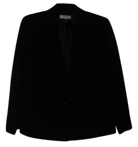 Kasper Kasper New Womens Black Notch Collar One -Button Jacket Plus 20W