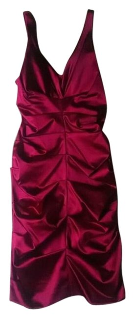 Preload https://img-static.tradesy.com/item/22148827/nicole-miller-crimson-red-burgundy-satin-party-holiday-4-mid-length-cocktail-dress-size-6-s-0-1-650-650.jpg