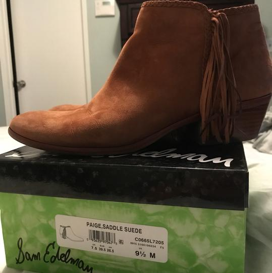 Sam Edelman brown--light tan Boots