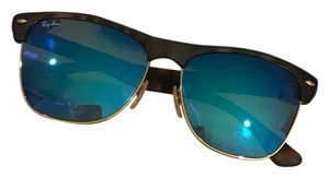 Ray-Ban clubmaster flash lenses