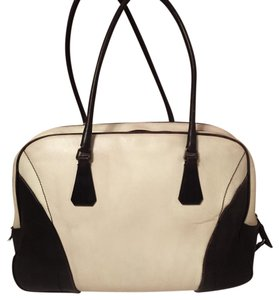 Prada Tote in Brown/Ivory