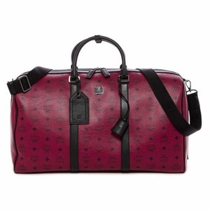 MCM Scooter Red Travel Bag