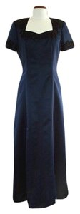 Edward Cromarty Art Design Studio Blended Silk Gown Dress