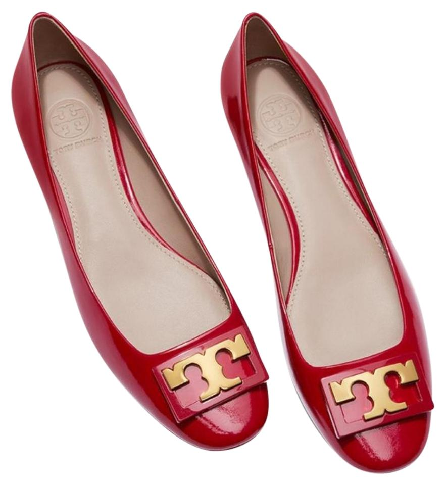 Tory Leather Burch Red Gigi Patent Leather Tory Pumps a90ea0