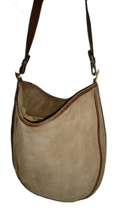 Bottega Veneta Suede Shoulder Accents Signature Tote in Tan/Cognac