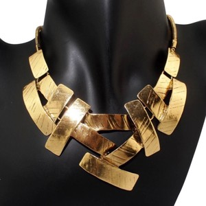 Queen Esther Etc Ladies Extract 24K Antique Gold Stunning Necklace