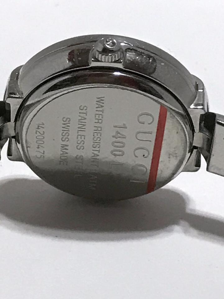 3d1718ada2a Gucci GUCCI STAINLESS STEEL 1400 L WATCH - PETITE Image 11. 123456789101112