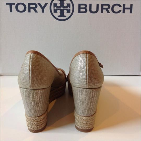 Tory Burch Charcoal Wedges