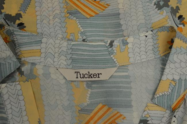 Tucker Top Sea foam/peach