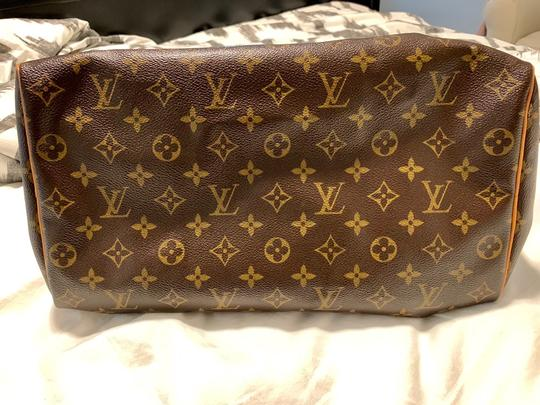 Louis Vuitton Lv 35 Speedy Good Condition Tote in Monogram Image 8