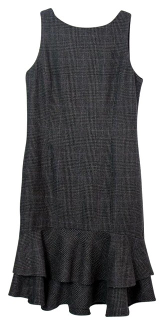 Preload https://img-static.tradesy.com/item/22150351/lauren-ralph-lauren-grey-black-lbd-pencil-layered-trumpet-from-mid-length-workoffice-dress-size-peti-0-2-650-650.jpg