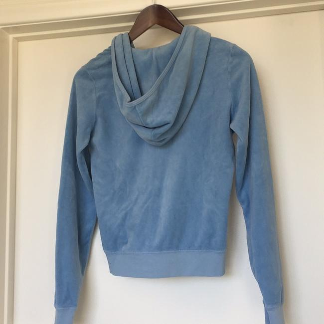 Juicy Couture baby blue/pale periwinkle Jacket
