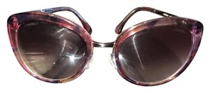 Chanel Cat Eye Pink And Silver Shades Chanel Shades