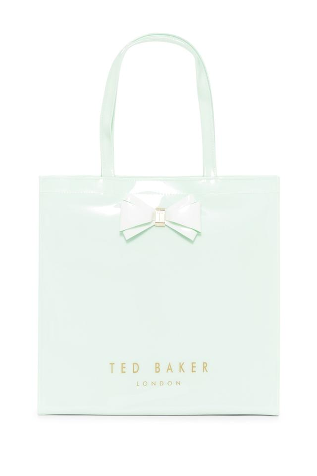 b7836c5718bb Ted Baker London Alacon Large Icon Lt Green Pvc Tote - Tradesy