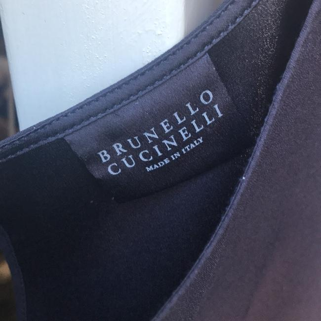 Brunello Cucinelli Top Navy