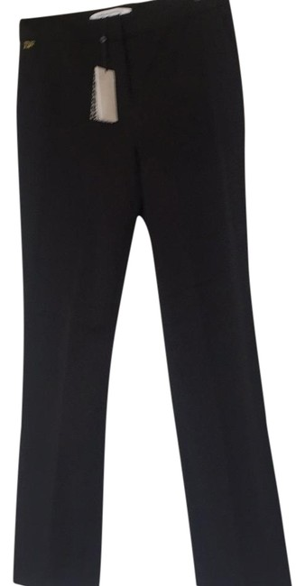 Diane von Furstenberg Straight Pants black