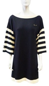 Chanel short dress Navy, White New 2014 Cruise Navy Blue on Tradesy