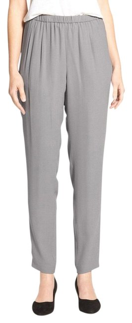 Preload https://img-static.tradesy.com/item/22150784/eileen-fisher-silver-silk-georgette-crepe-slouchy-straight-leg-pants-size-26-plus-3x-0-1-650-650.jpg