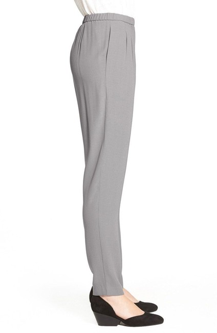 Eileen Fisher Straight Pants Silver