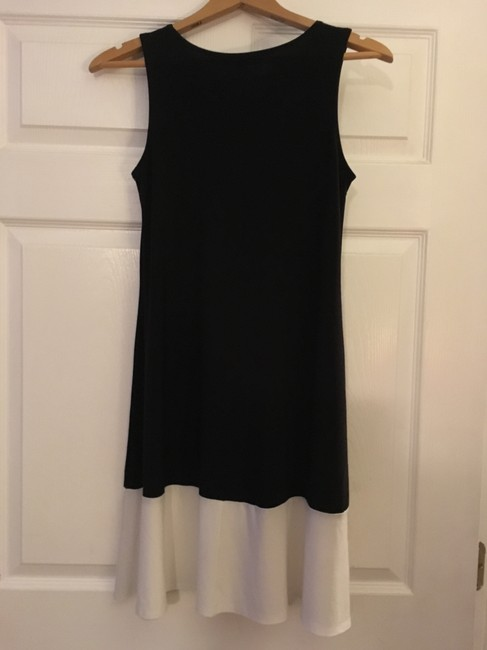 Tiana B. short dress Black & cream on Tradesy
