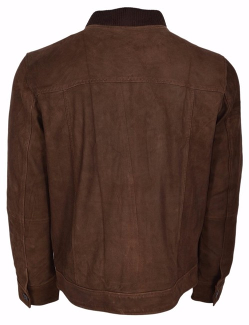 Robert Graham Coat Men's Brown Jacket