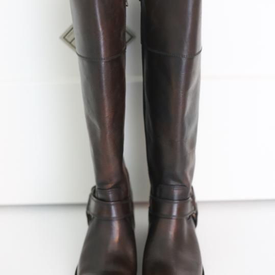 Frye Knee High Leather Brown Boots