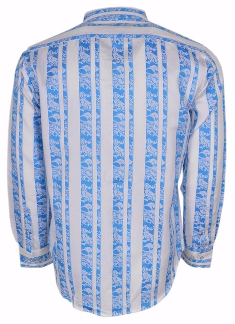 Robert Graham Shirt Men's Shirt Button Down Shirt Blue Mincing Lane