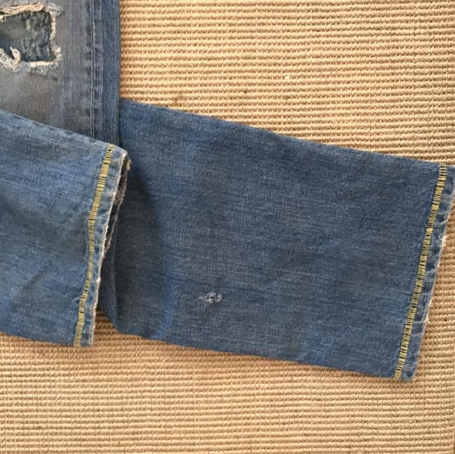 Loomstate Straight Leg Jeans-Distressed