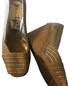 Jean-Michel Cazabat gold Wedges