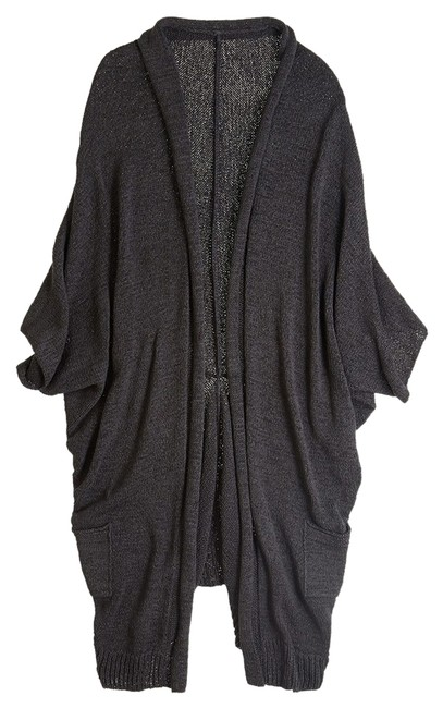 Preload https://img-static.tradesy.com/item/2215247/calypso-st-barth-charcoal-black-gray-reversible-cocoon-open-front-cardigan-sweaterpullover-size-os-o-0-0-650-650.jpg
