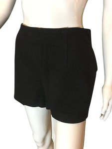 Moda International Flat Panel Stretchy Cotton Spandex Shorts Black