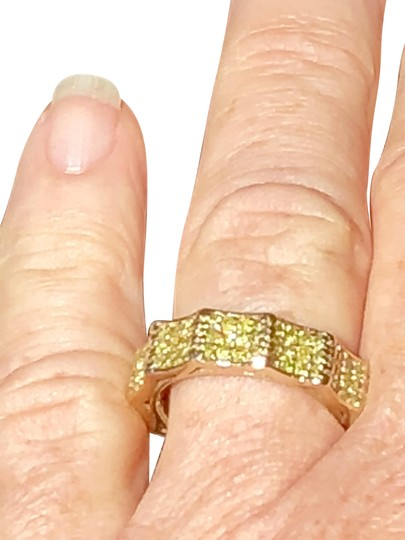 Preload https://img-static.tradesy.com/item/22152516/diamond-gold-canary-14k-solid-size-7-eternity-band-132-faceted-gemstones-ring-0-12-540-540.jpg