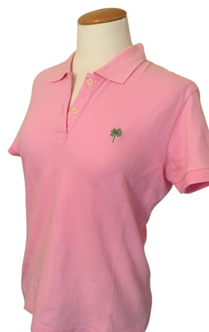 Item - Pink Island Polo Button-down Top Size 8 (M)