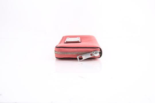 Marc Jacobs * Marc Jacobs Classic Standard Leather Continental Wallet Salmon