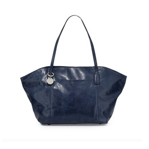 Hobo International Patti Navy Leather Tote in INK
