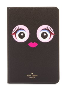Kate Spade NEW Kate Spade Monster face leather Ipad Mini 4 hard Case cover