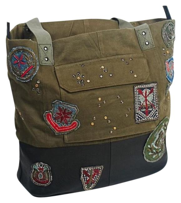 Item - New Military Inspired Green/Black Tote