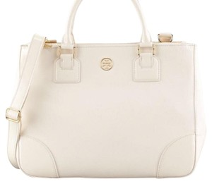 Tory Burch Satchel in off white/ cream