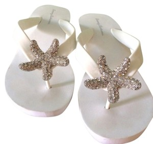 Tommy Bahama Beach Wedding white Sandals