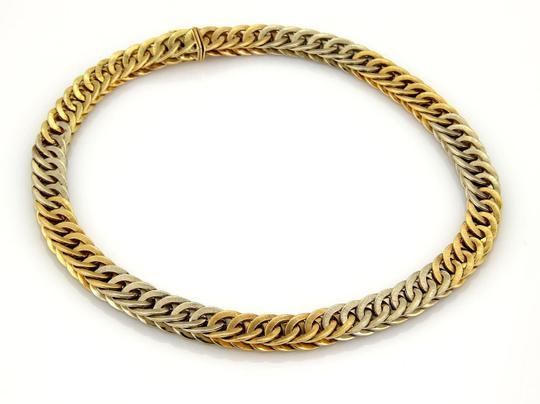 BUCCELLATI Braided 18k Two Tone Gold Curb Link Necklace 131 gr Image 1