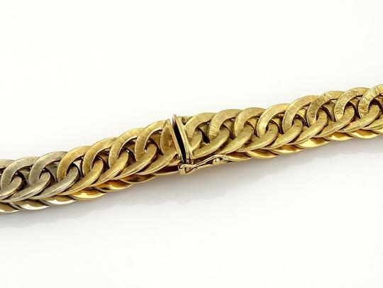 BUCCELLATI Braided 18k Two Tone Gold Curb Link Necklace 131 gr Image 4