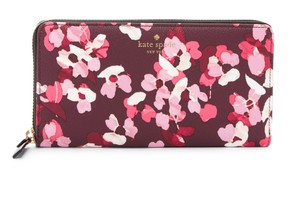 Kate Spade kate spade Young Lane Lacey PVC Multi-Color Floral Wallet Clutch