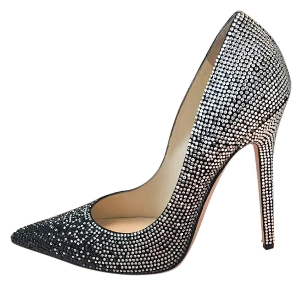 Retail Size Us Swarovski 9 Crystal Choo Pumps Ombre Tartini Heels Jimmy RegularmB32Off rsQtChxdB
