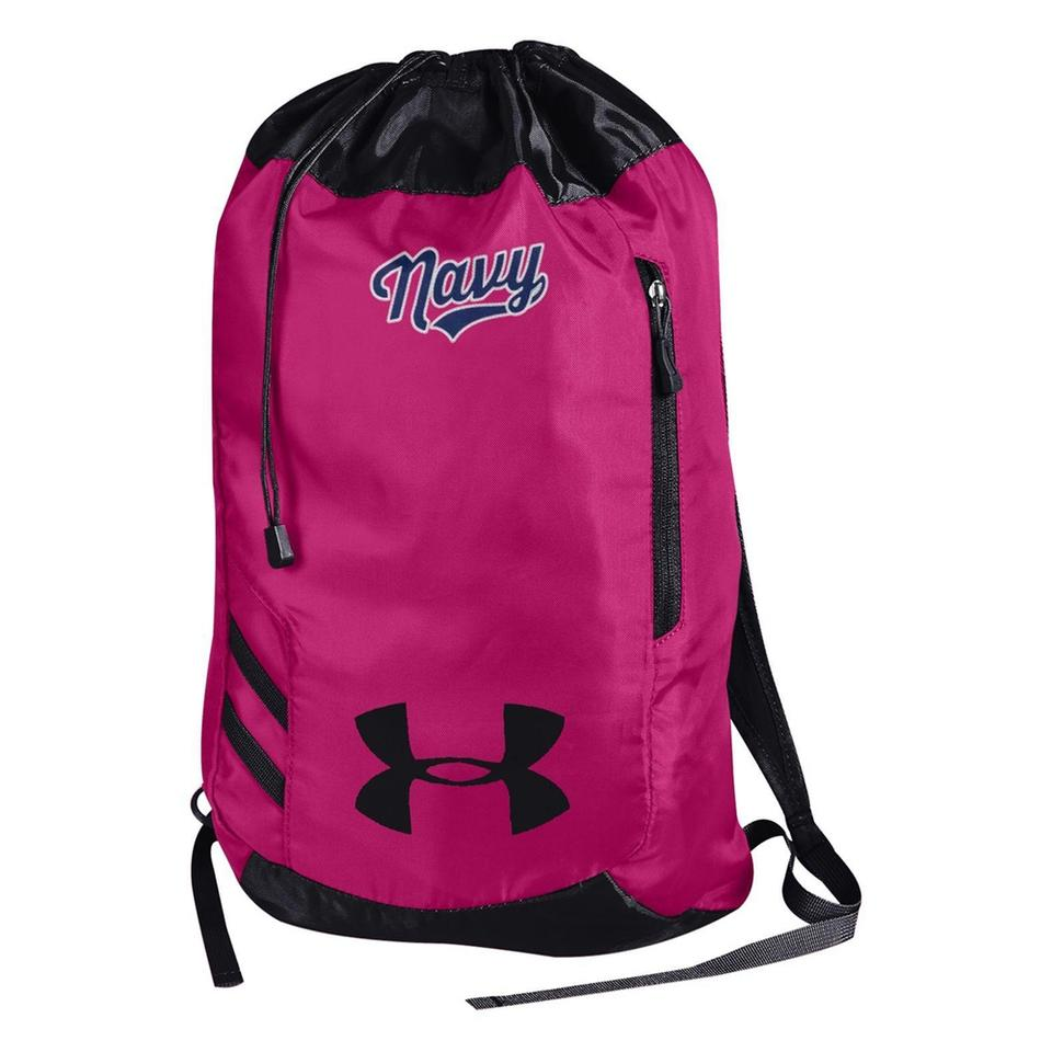 Pink And Gray Under Armour Backpack- Fenix Toulouse Handball 0c2996e5fa