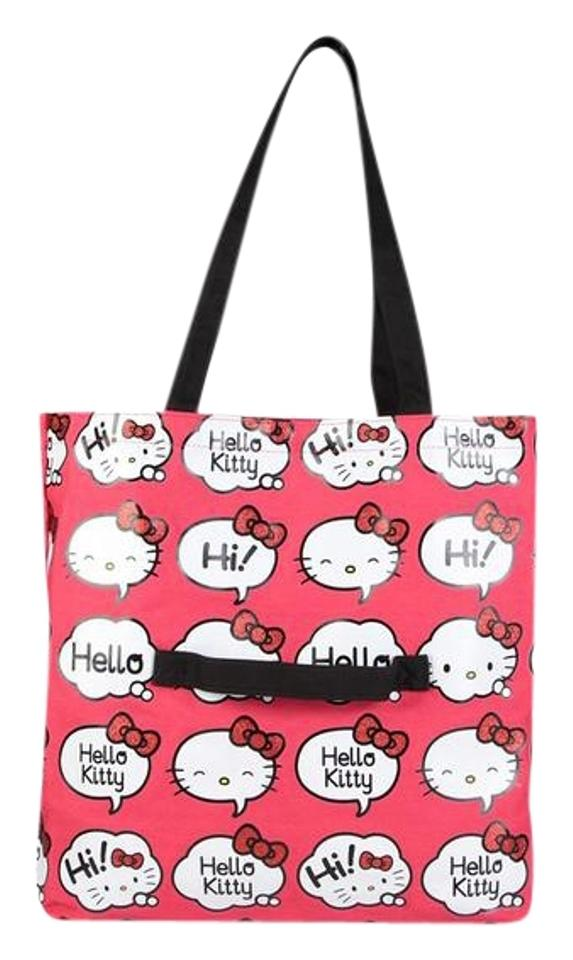 0db01c2bce9 Sanrio Hello Kitty Bag  Pop Pink Plastic Tote - Tradesy