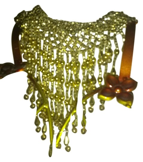 Other NEW Faux Gold Belly Dancer Choker - Necklace Brand New