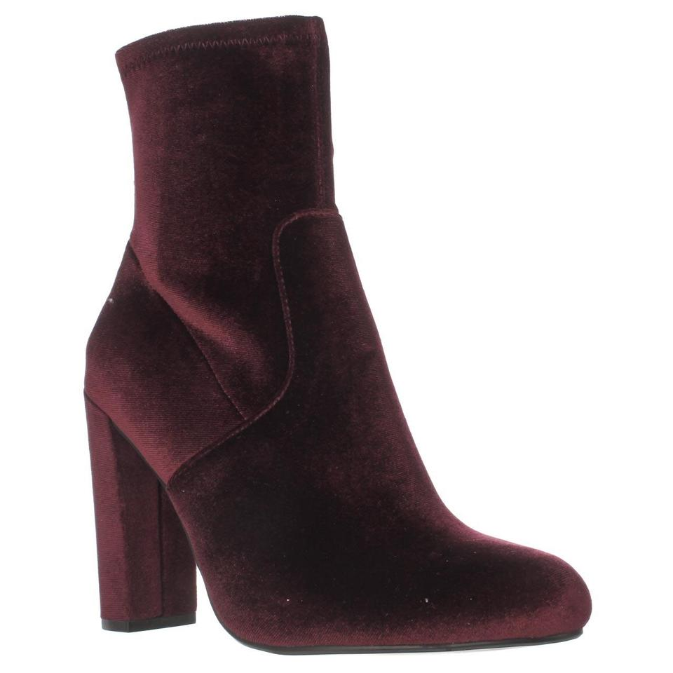 Steve Ankle Madden Red Brisk Stretch Ankle Steve Burgundy Boots/Booties bf6e26